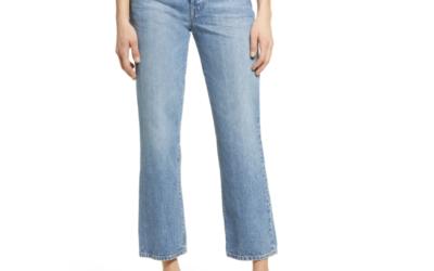 EDWIN Kali High Waist Ankle Straight Leg Jeans